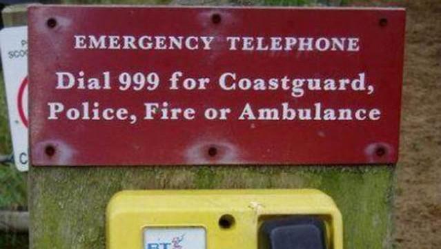 Telefono de emergencias 999