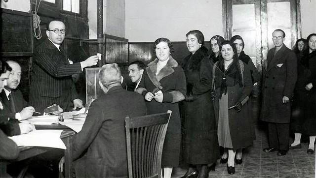 voto femenino 1933