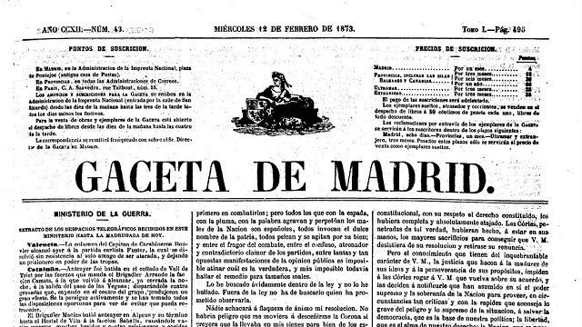 Gaceta de Madrid