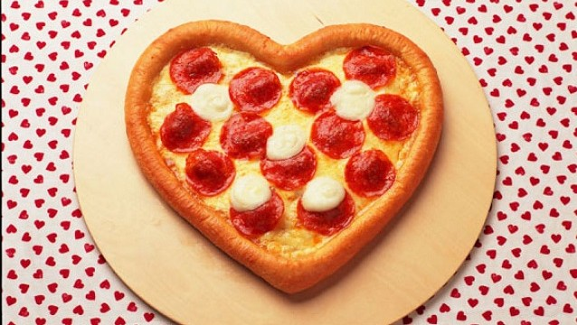 Pizza San Valentín